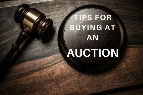 Tips for Buying at an Auction